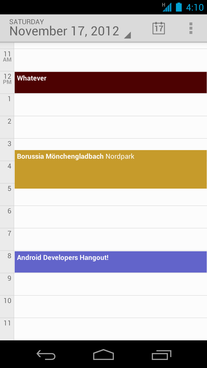 Android's CalendarContract Content Provider | Grokking Android