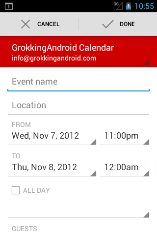 what you need to know about the intents of android s calendar app