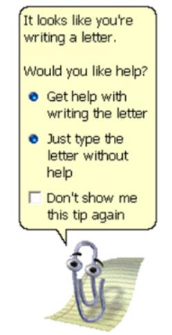 Microsoft's Clippy