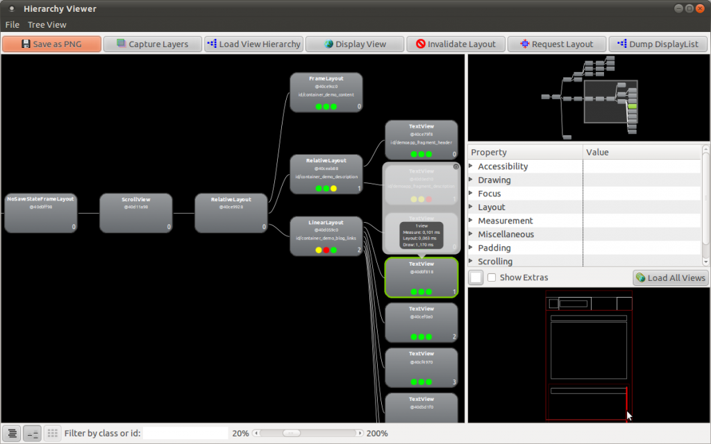 Hierarchy Viewer showing my missing view